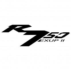 Stickers yamaha r750 exup 2
