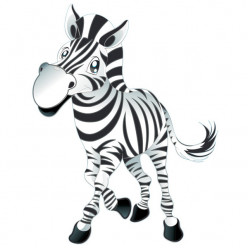 Stickers Zebre