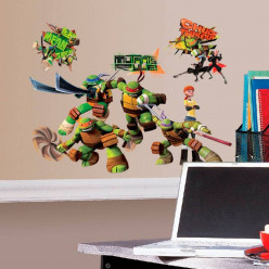 StickersStickers géant Club Tortues Ninja Nickelodeon