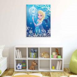 Tableau 100x75 cm La reine des neiges