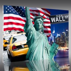 Tableau Plexi Wall Street