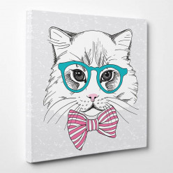 Tableau toile - Chat 4