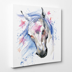 Tableau toile - Cheval 8
