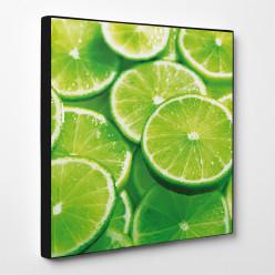 Tableau toile - Citrons Verts