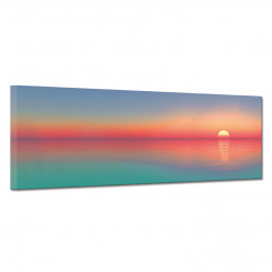 Tableau toile - Couché de soleil 3