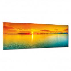 Tableau toile - Couché de soleil 7