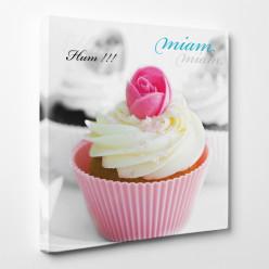 Tableau toile - Cupcake