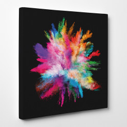 Tableau toile - Explosion des couleurs