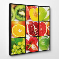 Tableau toile - Fruits