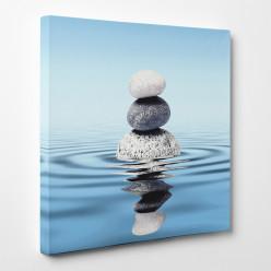 Tableau toile - Galets Zen 3