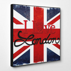 Tableau toile - I love London