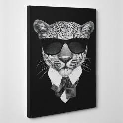 Tableau toile - Léopard Boss