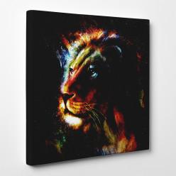 Tableau toile - Lion 4