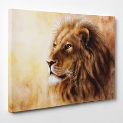 Tableau toile - Lion 6