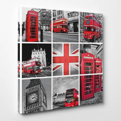 Tableau toile - London 3