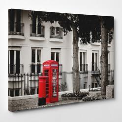 Tableau toile - London Cabine téléphonique 6