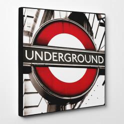 Tableau toile - London Underground