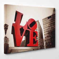 Tableau toile - Love 10