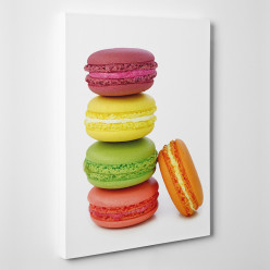 Tableau toile - Macarons 2