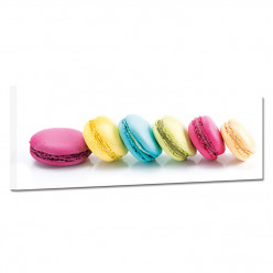 Tableau toile - Macarons 25