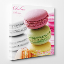 Tableau toile - Macarons 6