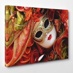 Tableau toile - Masque Venise 5