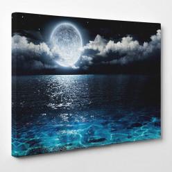 Tableau toile - Nature Lune 2