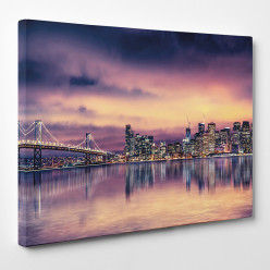 Tableau toile - New York 54
