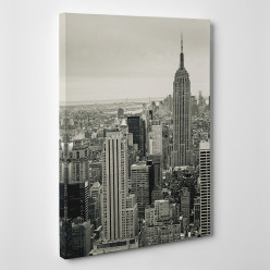 Tableau toile - New York Black&White