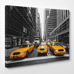 Tableau toile - New York Taxi 2