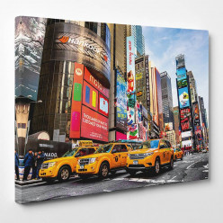 Tableau toile - New York Taxi 8