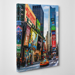 Tableau toile - New York Time Square