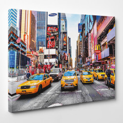 Tableau toile - New York Time Square 3
