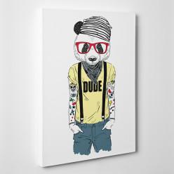 Tableau toile - Panda Cool 4