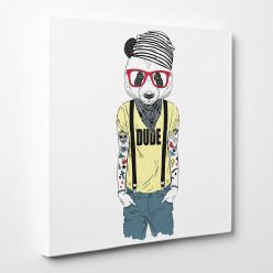 Tableau toile - Panda Cool 5
