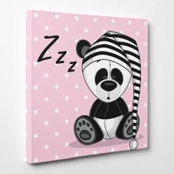 Tableau toile - Panda Zzzz