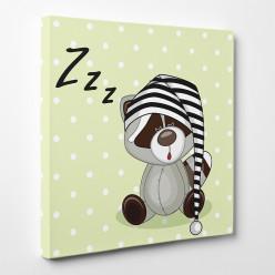 Tableau toile - Panda Zzzz 2