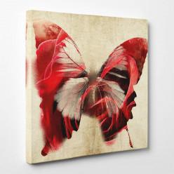 Tableau toile - Papillon Abstrait 3