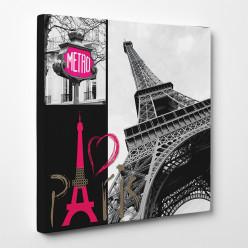 Tableau toile - Paris