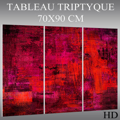 Triptyque Forex Abstrait