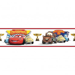 Frise Adhésive Disney Cars 4,5 mètres