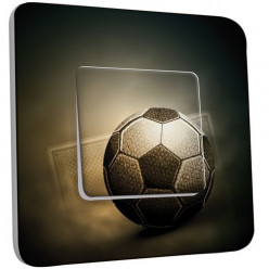 Interrupteur Décoré Poussoir - Football Retro