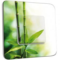 Interrupteur Décoré Simple Va et Vient - Canne de bambou