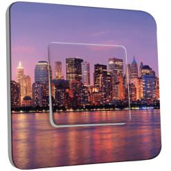 Interrupteur Décoré Simple Va et Vient - New York Color