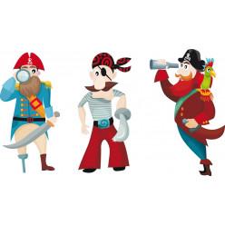kit Stickers 3 pirates