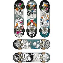 kit Stickers 5 skates
