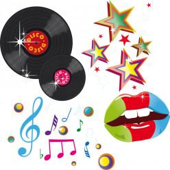 kit Stickers disco