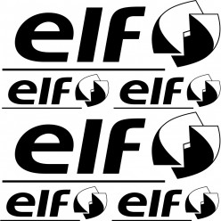 Kit stickers elf