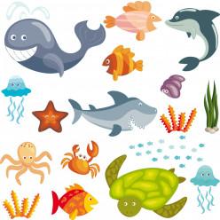 kit Stickers océan