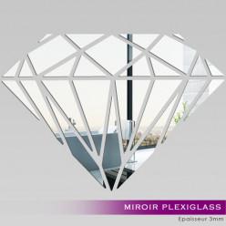 Miroir Plexiglass Acrylique - Diamant